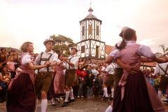 南美委内瑞拉科洛尼亚省托瓦节日 库存照片