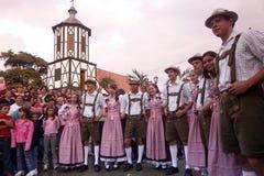 南美委内瑞拉科洛尼亚省托瓦节日 免版税库存图片