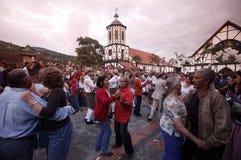 南美委内瑞拉科洛尼亚省托瓦节日 图库摄影