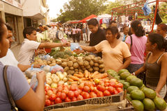 南美委内瑞拉马拉开波镇市场 图库摄影