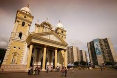 南美委内瑞拉马拉开波镇 库存图片