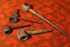 从南美的烟斗 免版税库存照片