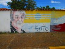 南美街道艺术,委内瑞拉 免版税图库摄影