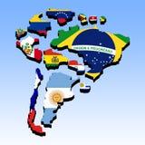 南美3 免版税图库摄影