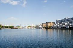 南船坞,伦敦 免版税图库摄影
