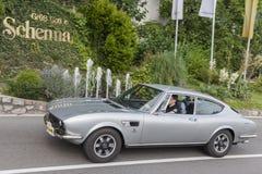 南蒂罗尔Rallye 2016_FIAT迪诺 免版税库存照片