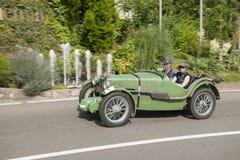 南蒂罗尔Rallye 2016_MG J2_green_side 库存图片