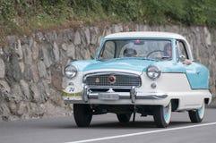 南蒂罗尔Rallye 2016_NASH Metropolitan_front 免版税图库摄影