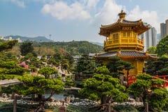南连家庭院,香港 库存照片
