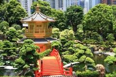 南连家庭院,香港 免版税库存图片