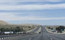 南部加利福尼亚的路 图库摄影