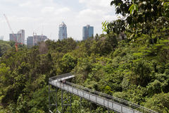 南部的土坎机盖步行,新加坡 库存图片