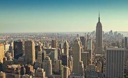 南部的曼哈顿 免版税库存照片