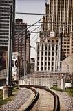 南部的铁路 免版税库存图片