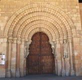 南部的门,大教堂de钦琼特佩克火山 免版税库存图片