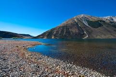 南部的高山阿尔卑斯山 免版税库存图片