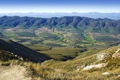 南部非洲的干旱台地高原一点 免版税库存图片