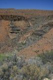 南部非洲的干旱台地高原变化 库存照片