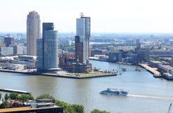 南部头在鹿特丹,荷兰 库存照片
