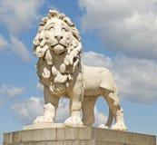 南银行狮子,伦敦 免版税库存图片