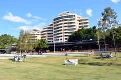 南银行Parklands -布里斯班澳大利亚 免版税图库摄影
