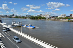 南银行Parklands -昆士兰澳大利亚 免版税图库摄影