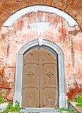 南门圆形建筑 库存图片