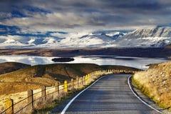 南阿尔卑斯山脉,新西兰 免版税库存照片