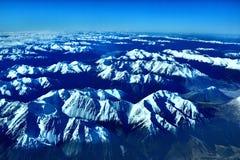 南阿尔卑斯山脉 库存图片