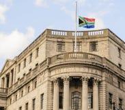 南非使馆在伦敦 图库摄影