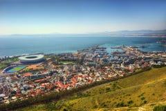 南非开普敦地平线 图库摄影