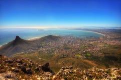 南非开普敦日落 库存照片