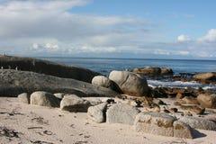南非开普敦海滩 免版税库存图片