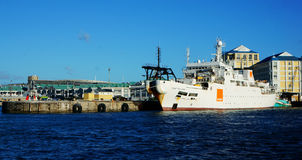 南非开普敦码头 免版税库存图片