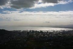 南非开普敦,桌山 免版税图库摄影