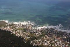 南非开普敦,桌山 免版税库存图片