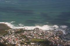 南非开普敦,桌山 库存照片