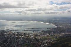 南非开普敦,桌山 库存图片
