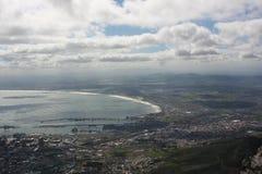 南非开普敦,桌山 图库摄影