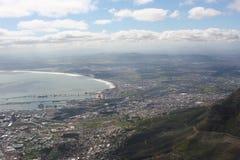 南非开普敦,桌山 免版税库存照片