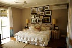 南非洲小屋的空间 免版税库存图片
