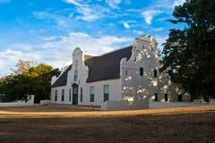 南非洲有历史的宅基 免版税库存图片