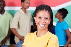 南非洲的人员 库存图片