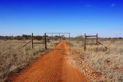 南非洲的农场 免版税图库摄影