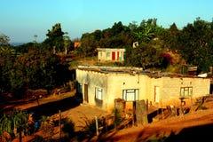 南非洲的房子 免版税库存照片