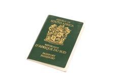 南非洲的护照 免版税库存图片