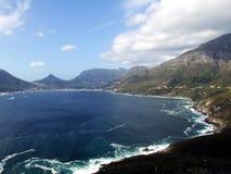 南非洲的海岸线 免版税库存照片