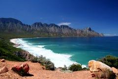 南非洲的海岸线 免版税库存图片