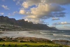 南非洲的海滩 图库摄影