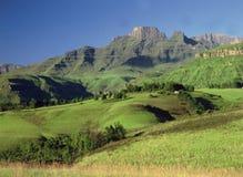 南非洲的drakensburg 免版税图库摄影